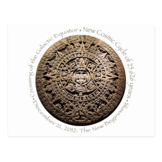 December 21, 2012 Mayan commemorative memorabilia Postcard