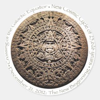 December 21, 2012 Mayan commemorative memorabilia Sticker