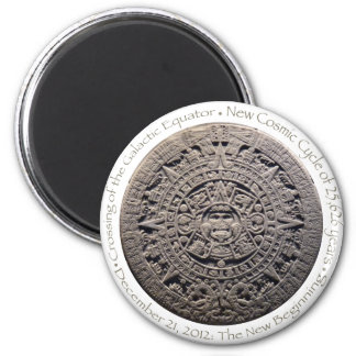 DECEMBER 21, 2012: The New Beginning commemorative 2 Inch Round Magnet