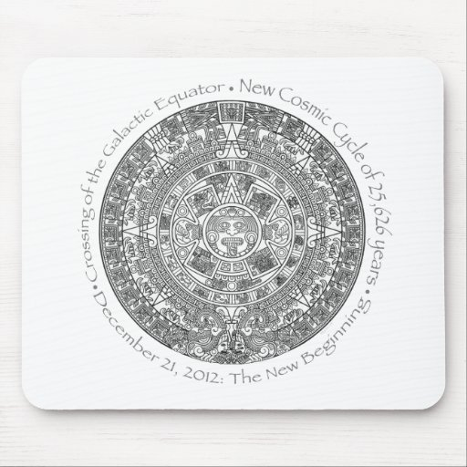 DECEMBER 21, 2012: The New Beginning commemorative Mouse Pads