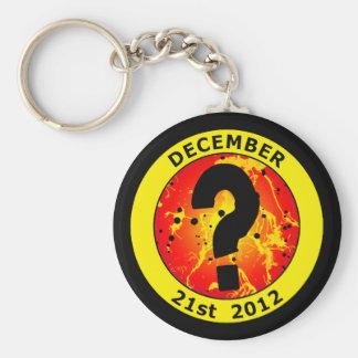 DECEMBER 21st 2012 Keychain
