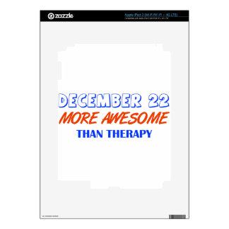 december 22  design iPad 3 decal