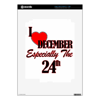 december 24 designs decal for the iPad 2