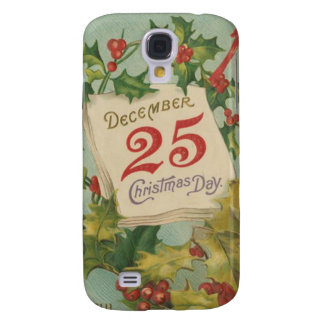 December 25th Christmas Day Samsung Galaxy S4 Cover