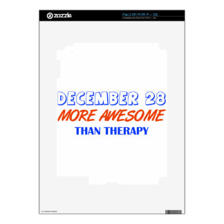 december 28 design iPad 2 decals