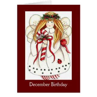 December Birthday Cards - Greeting & Photo Cards | Zazzle