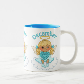 December Angel coffee Birthstone mug