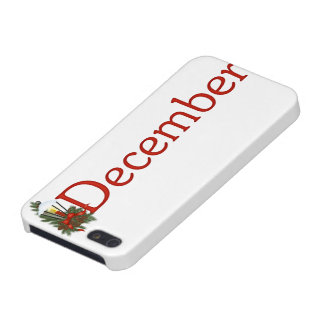 December Birth Month Themed iPhone 5 Case