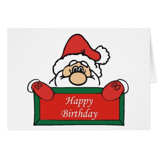 December Birthday Card | Zazzle