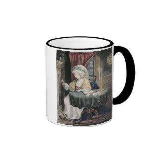 December, c.1790 (w/c on paper) mug