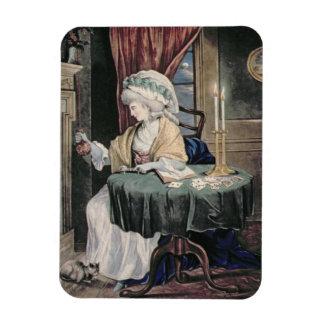 December, c.1790 (w/c on paper) rectangular photo magnet