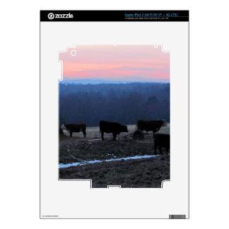 december cows iPad 3 skins