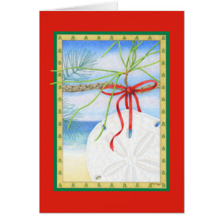 December Dollar Greeting Card