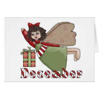 December Fairy Card