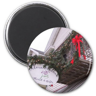 December Holiday 2 Inch Round Magnet