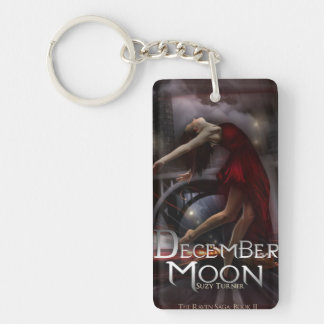 December Moon Key chain