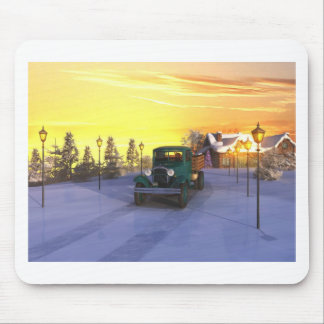 December Morning Mouse Pad