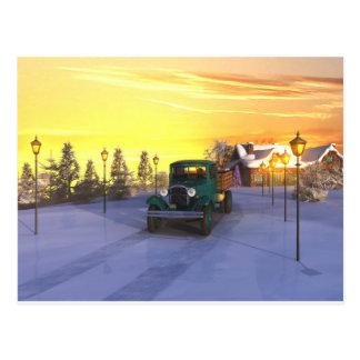 December Morning Postcard