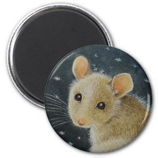 December Mouse Magnet