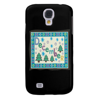 December Samsung Galaxy S4 Cover