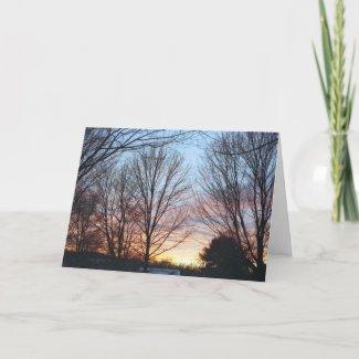 December Sky Card card