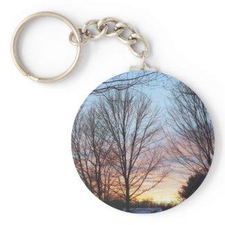 December Sky Keychain keychain