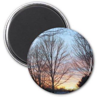 December Sky Magnet magnet