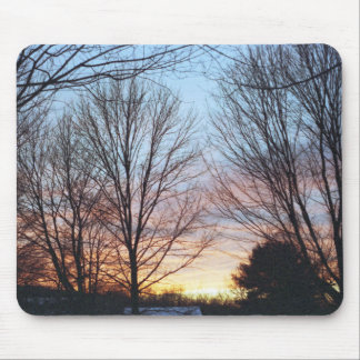 December Sky Mousepad