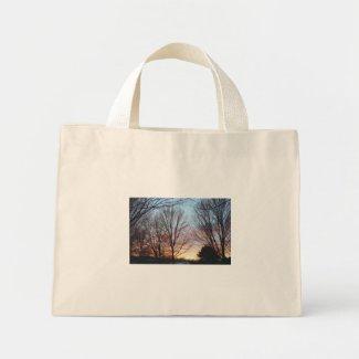 December Sky Tote Bag bag