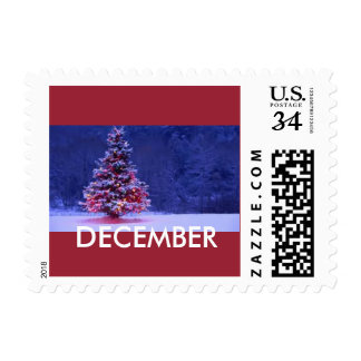December To Remember postage