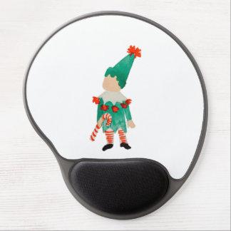 December Toddler Child Christmas Elf Gel Mouse Pad