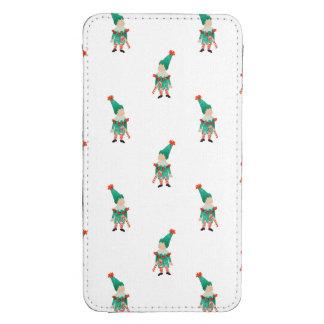 December Toddler Children Christmas Elves Pattern Galaxy S4 Pouch