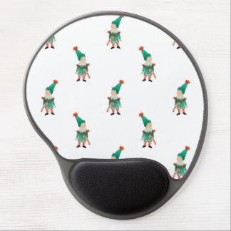 December Toddler Children Christmas Elves Pattern Gel Mouse Pad