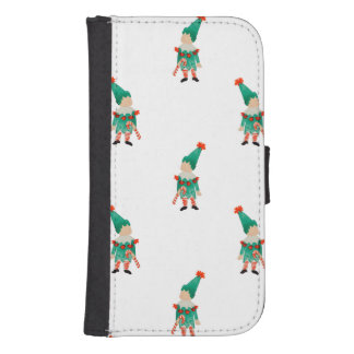 December Toddler Children Christmas Elves Pattern Phone Wallets