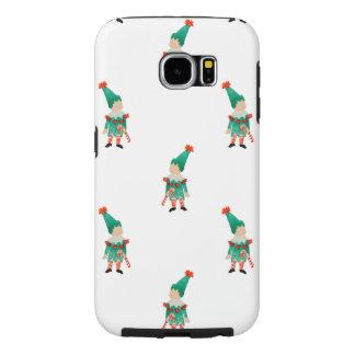 December Toddler Children Christmas Elves Pattern Samsung Galaxy S6 Cases