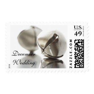 December Wedding Christmas Wedding Holiday Wedding Stamp