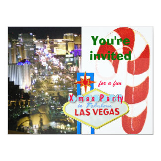 December Wedding in Las Vegas Card