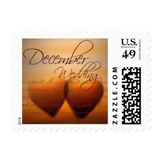 December Wedding - Small heart stamps