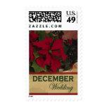 December Wedding stamps