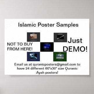 Decent Decorative Islamic Posters