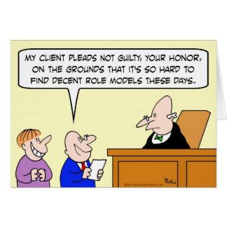 decent role models judge trial cards