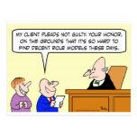 decent role models judge trial postcard