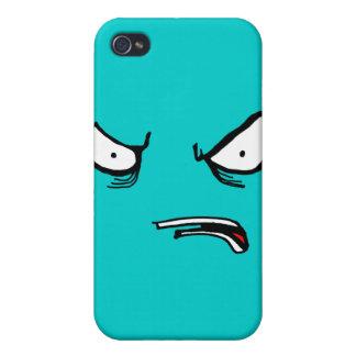 Decepción enojada iPhone 4 cárcasa