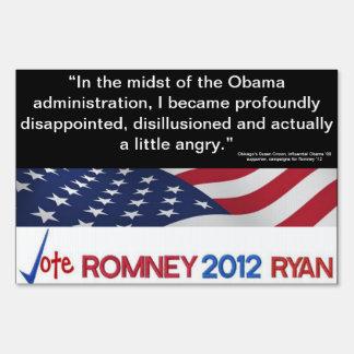 ¿Decepcionado en Obama Cambie a la muestra del mi