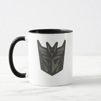 Decepticon Cracked Symbol Mug