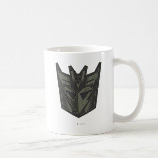 Decepticon Cracked Symbol Coffee Mug