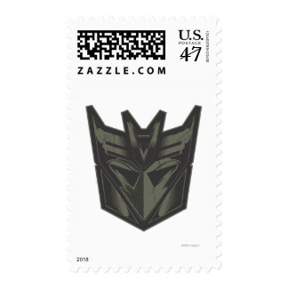 Decepticon Cracked Symbol Postage