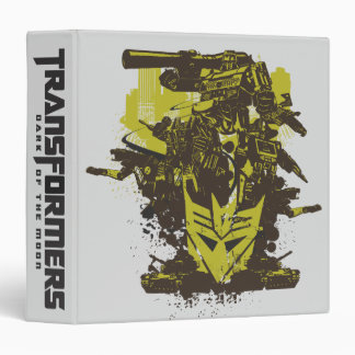 Decepticon Grunge Collage Binder