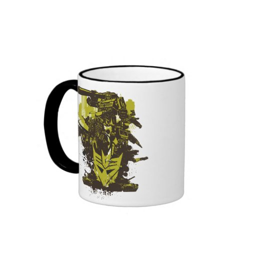 Decepticon Grunge Collage Mug