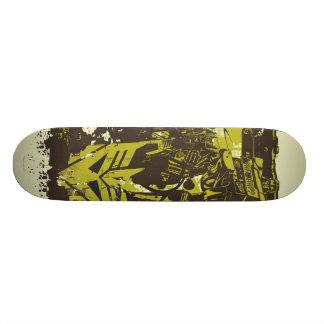 Decepticon Grunge Collage Skateboard